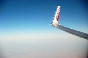 Anflug auf Aegypten