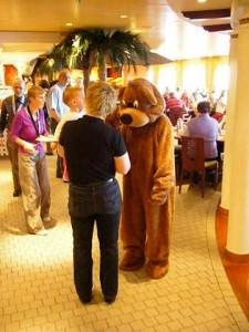 Der Bär auf der Aida - Kinderclub
