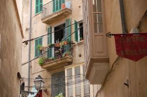 Seitengassen in Palma de Mallorca