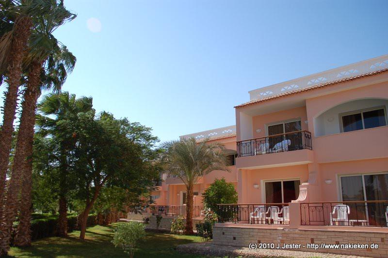 Zimmer und Palmengarten