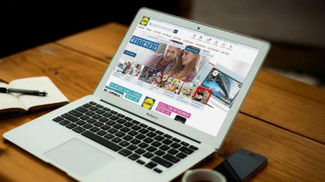 Der Lidl Onlineshop