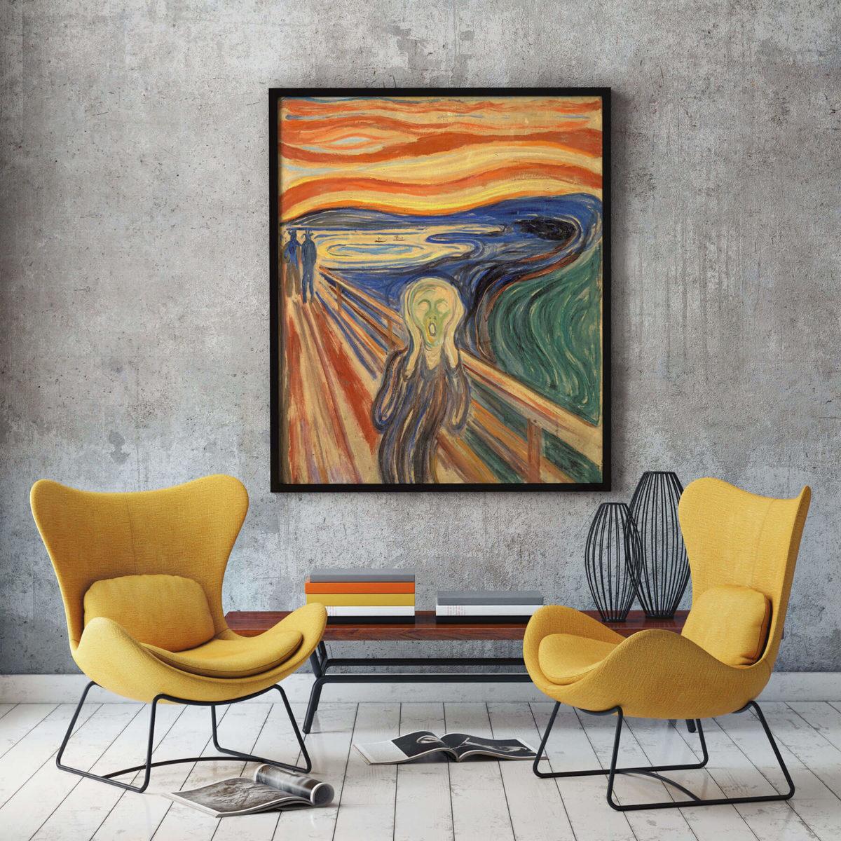 Edvard Munch - Der Schrei als Posterdruck