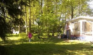 Auf dem Campingplatz Wisedermeer