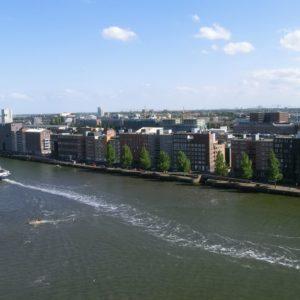 Ablegen mit der Costa Magica: Amsterdam von oben (Wir berichten von unserer Nordeuropa Kreuzfahrt auf der Costa Magica)