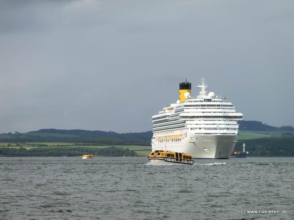 Aussschiffen Edinburgh