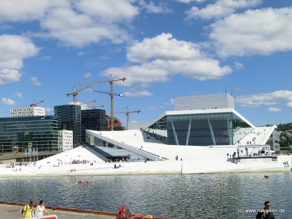 Die Bibliothek in Oslo