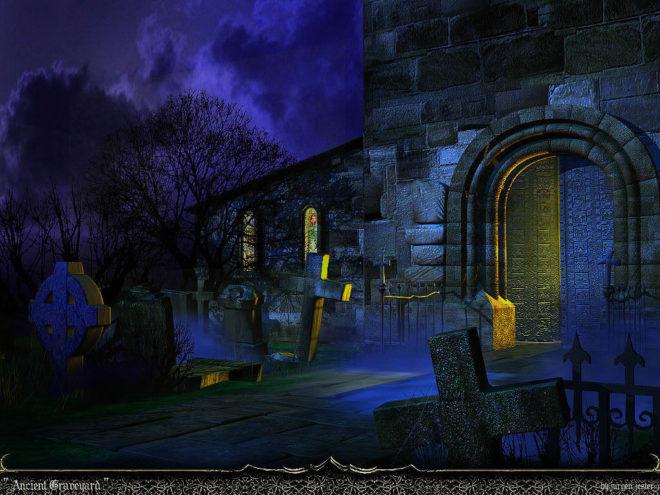 Diablo lässt grüßen: Ancient Graveyard für 3Ds Max