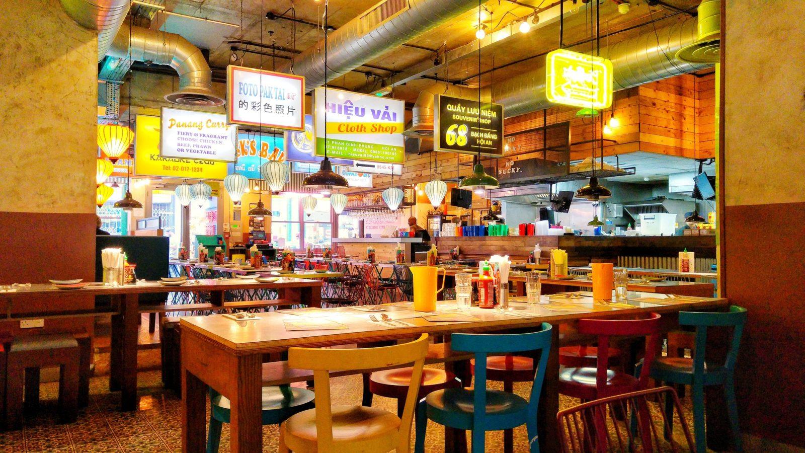 Asiatisches Schnellrestaurant