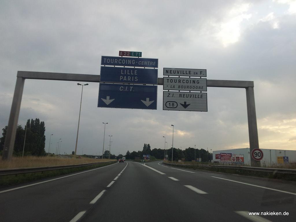 Autobahn Frankreich