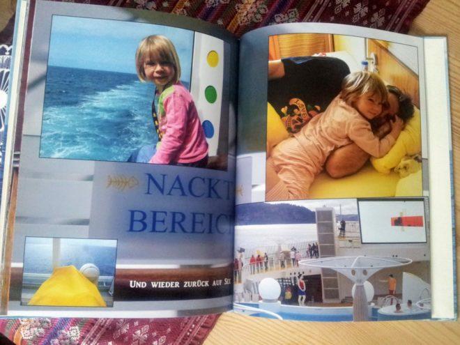 Unser erstes Fotobuch