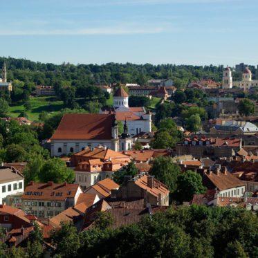 Vilnius und die Kirchen