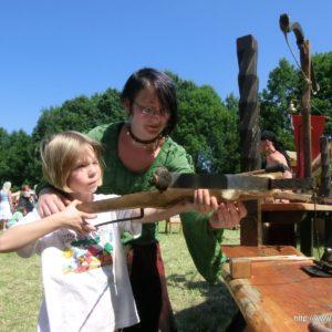 Armbrustschießen (Keltisches Mittsommer Festival in Neuschanz 2013)