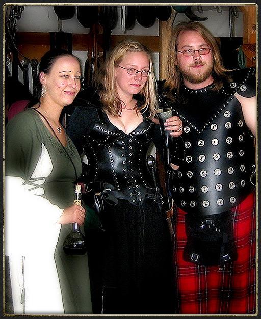 Ritter und Burgfrauen