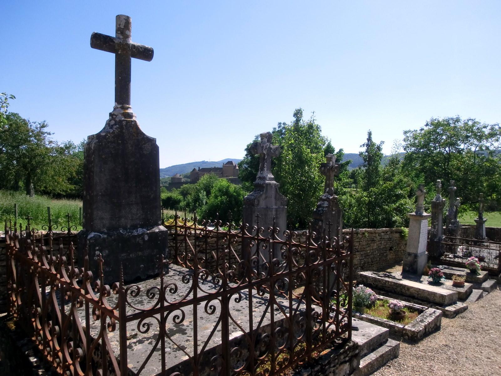 Friedhof der Burg und Gemeinde