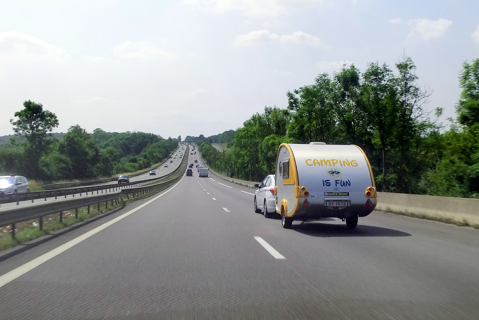 Wohnwagen, Autobahn