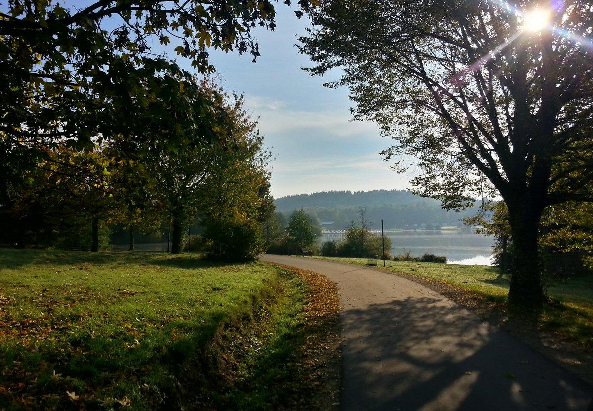 Weg am Bostalsee