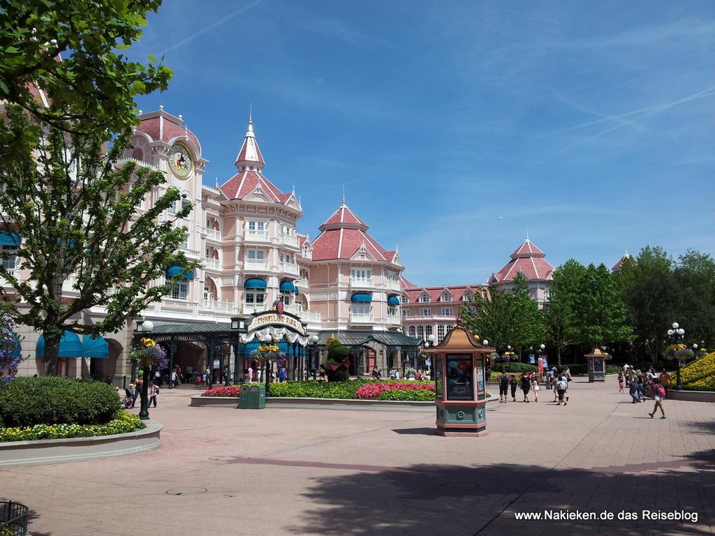 Disneyland Eingang