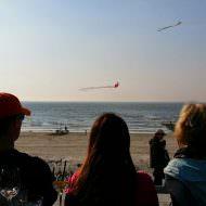 Blick auf die Nordsee mit einem Drink in der Hand und chilliger Musik im Ohr (Ein Wochenende auf der Nordseeinsel Norderney mit Blank and Jones)
