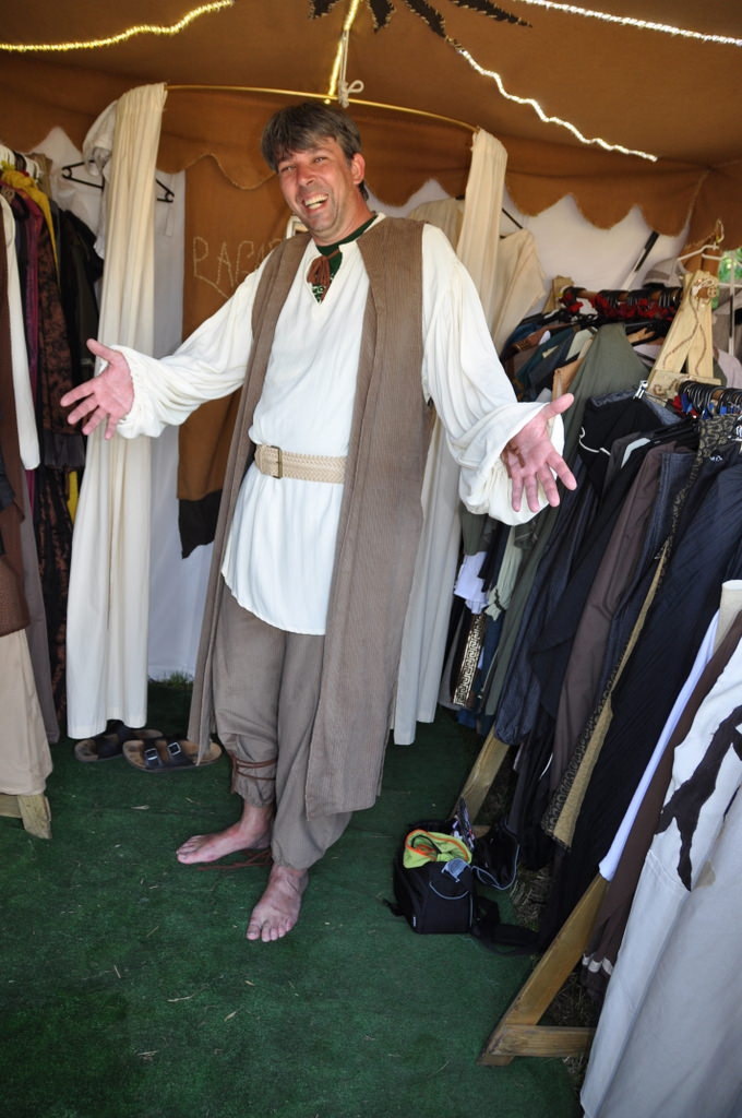 Mein neues mittelalterliches Kostüm