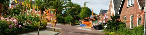 Oranje in der Straße