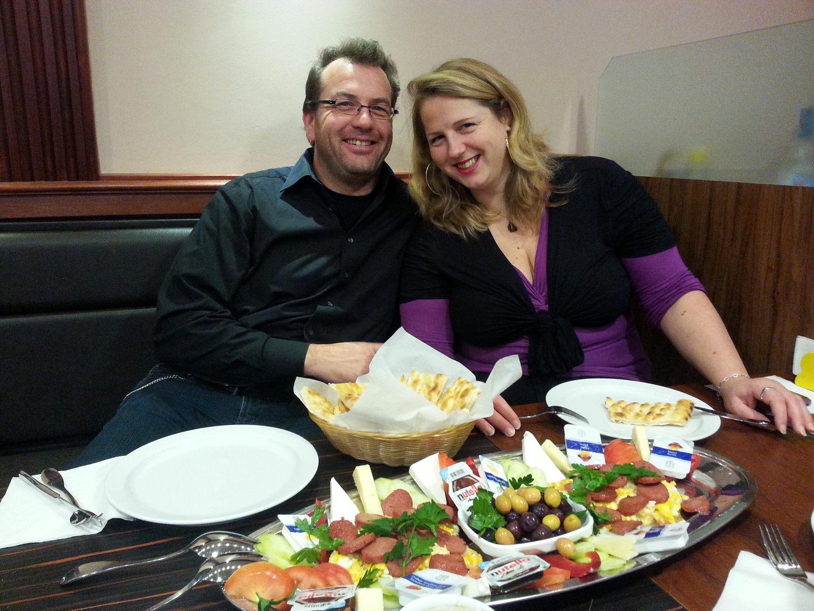 Matthias Doden und Annette Jöhnk