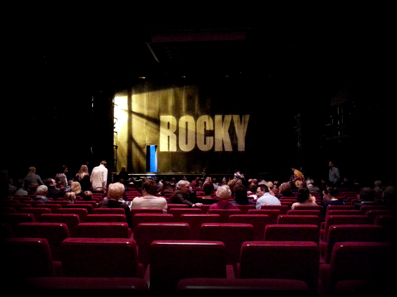 Rocky in Hamburg