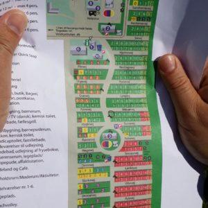 Die Platzkarte
