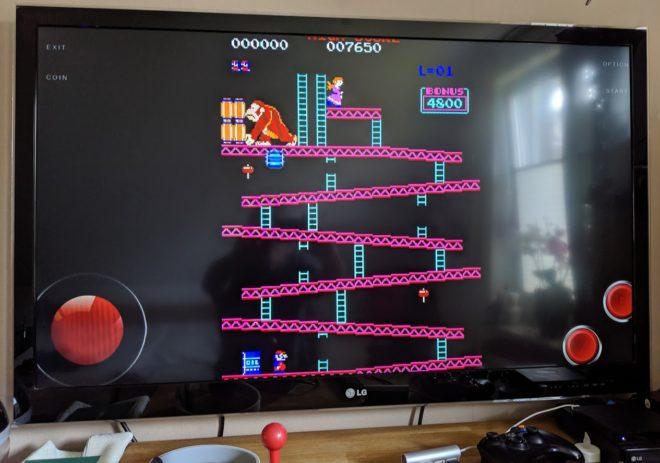Donkey Kong auf dem TV in 15 Minuten