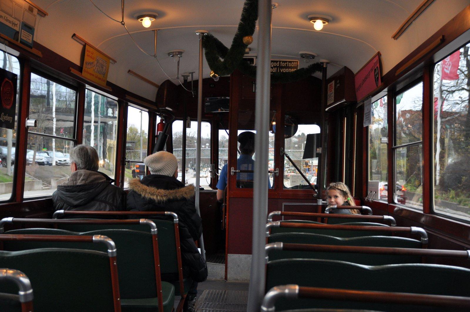 Alte Straßenbahn