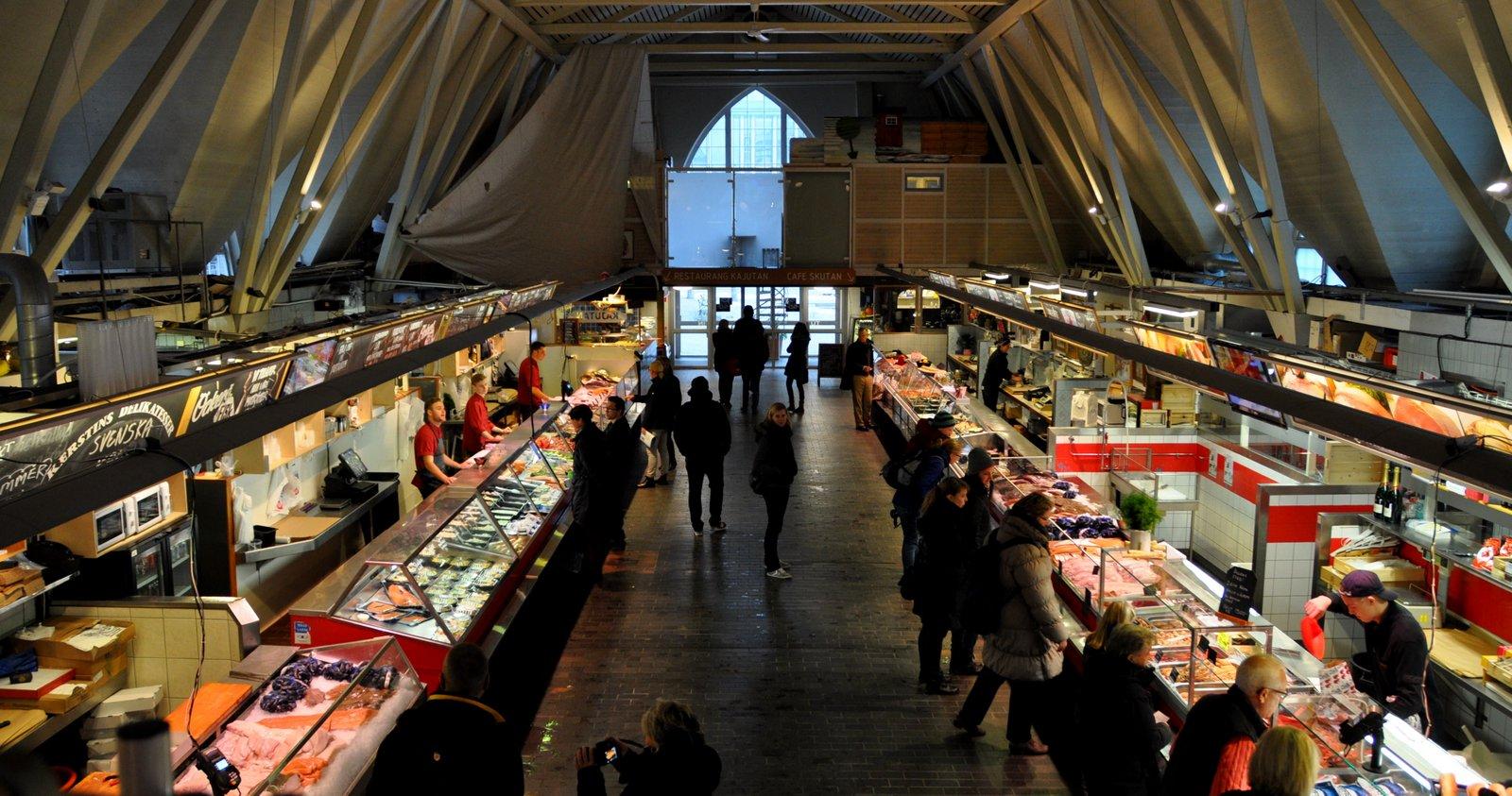 Feskekörka Fischmarkt