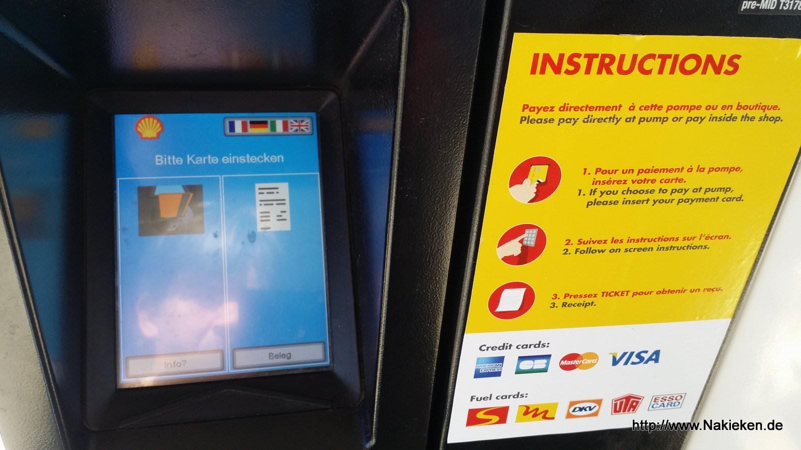 Kreditkartentankstelle