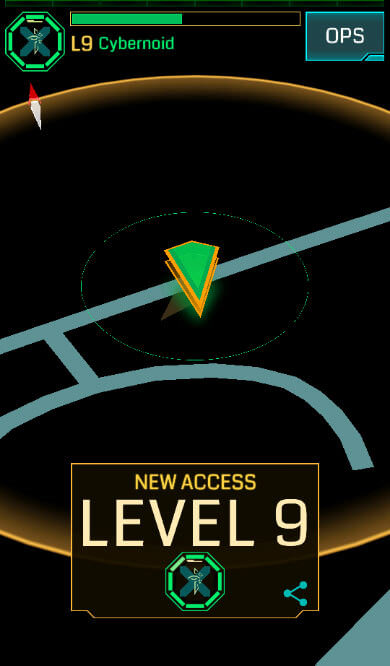 Ingress Level 9