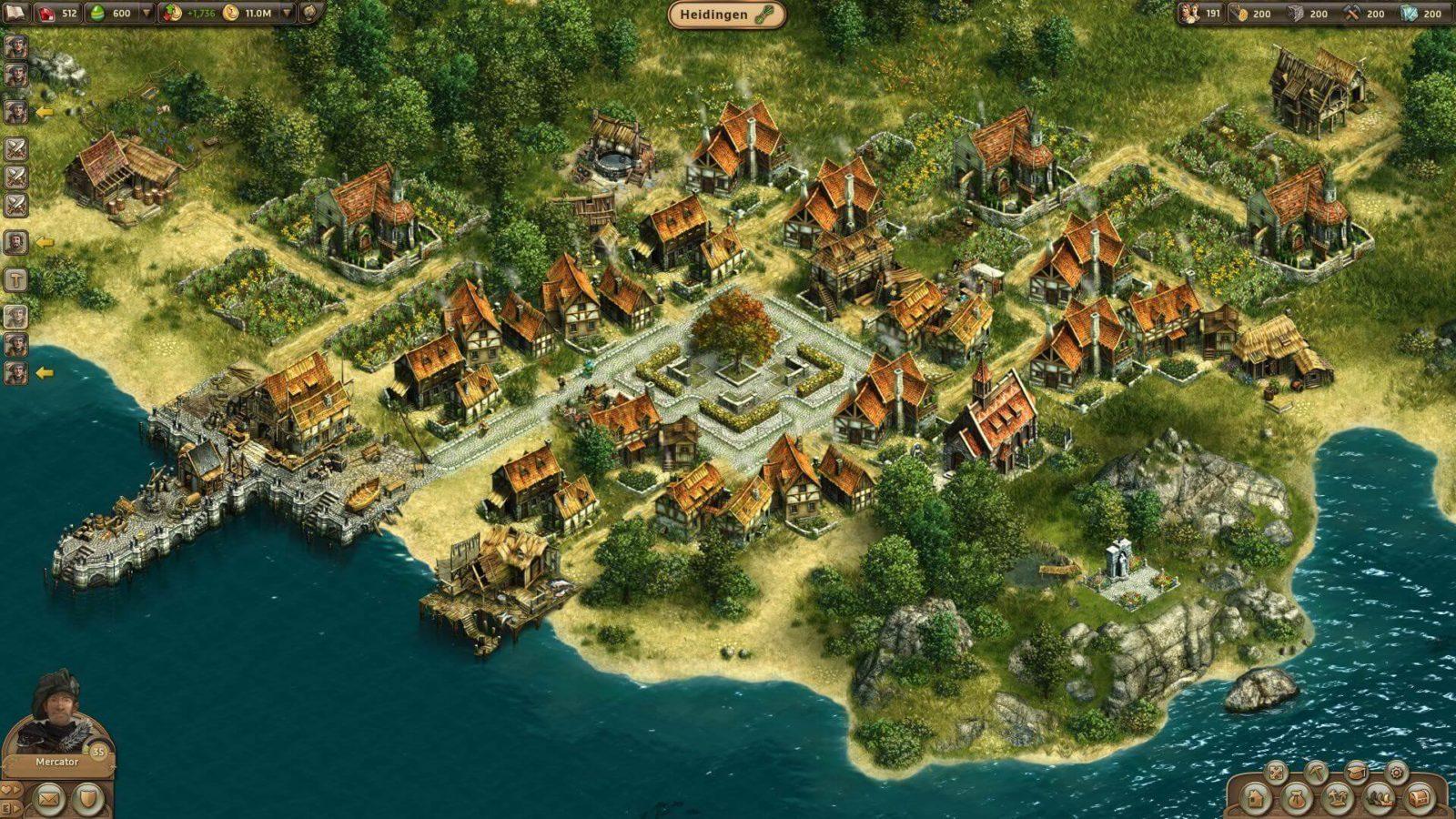 kleine Stadt in Anno