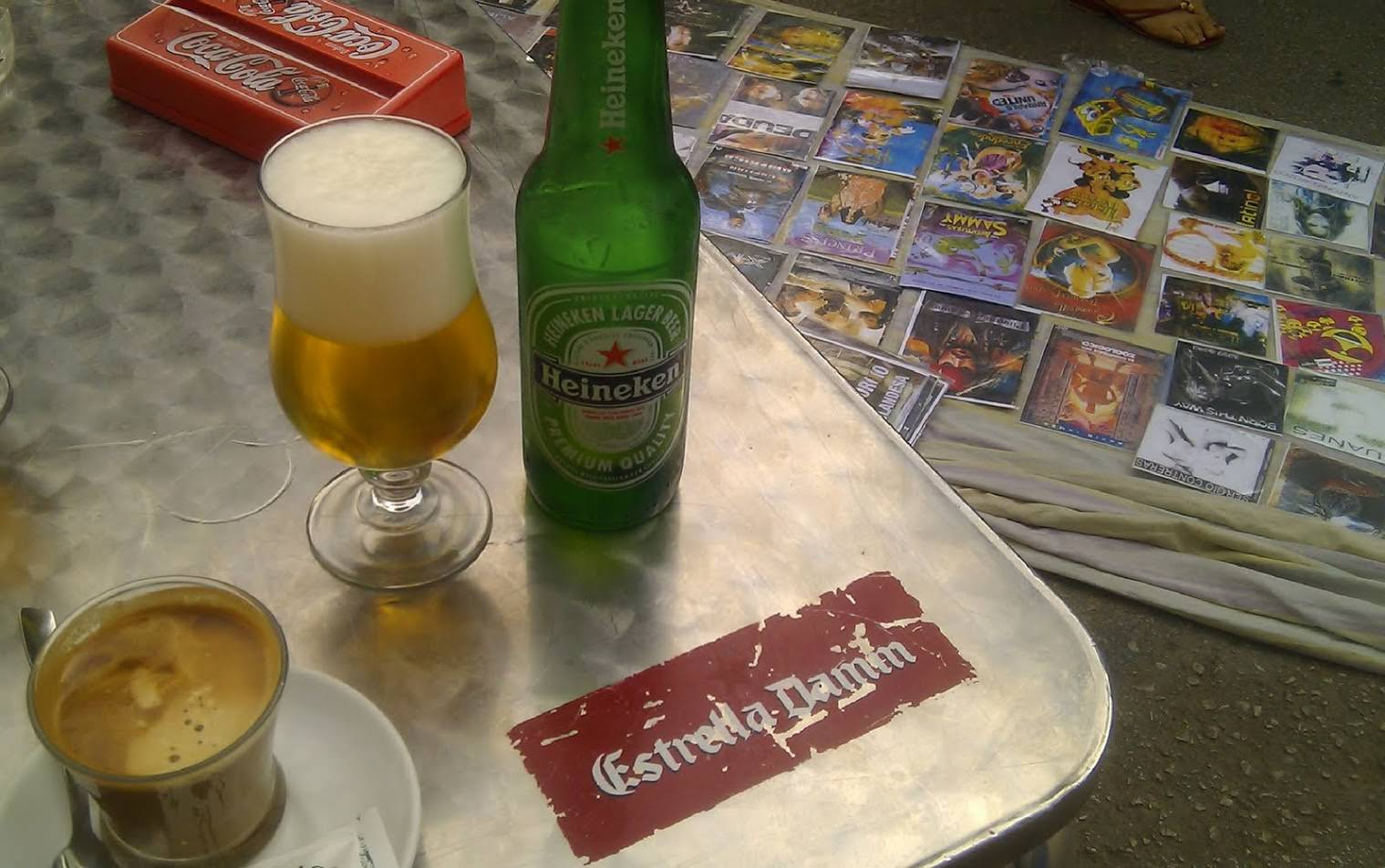 Ein Bier und Filme