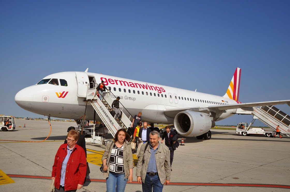 Mit GermanWings nach Italien