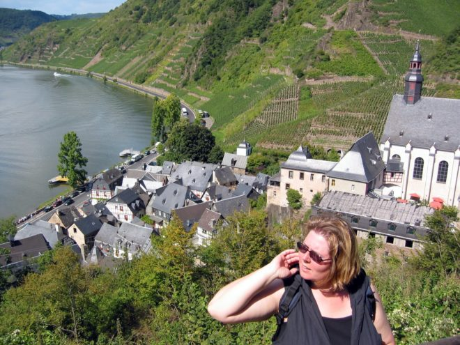 Auf dem Weg zur Burg Metternich