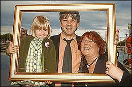 Jürgen, Tanja und unsere Tochter