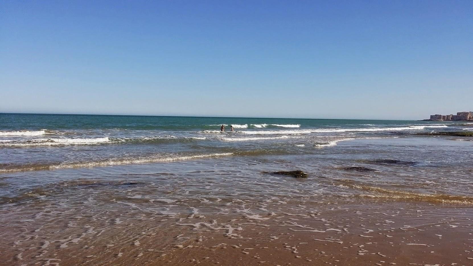 Am Strand von La Mata