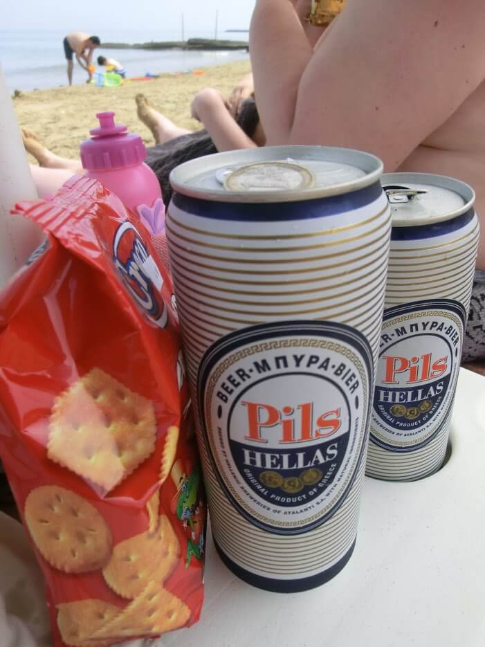 Hellas Bier und Kekse
