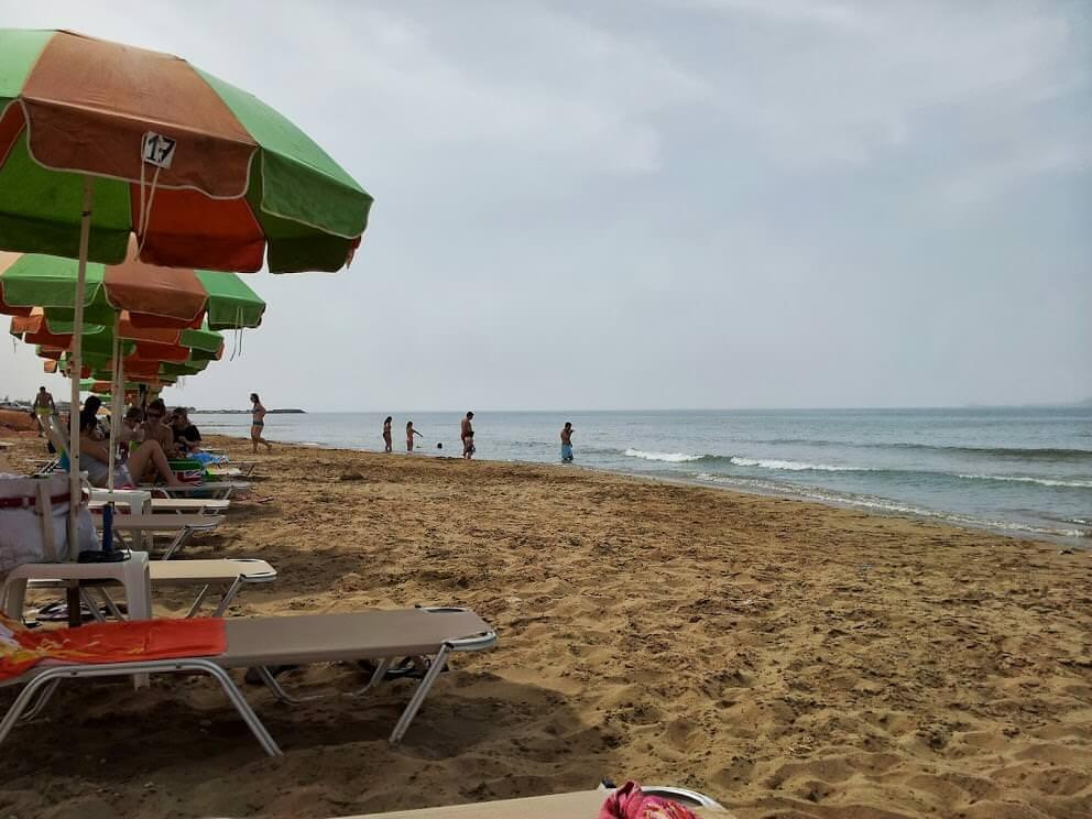 Strand des Campingplatz