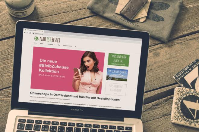 Nah ist besser - Onlineshopping in Ostfriesland