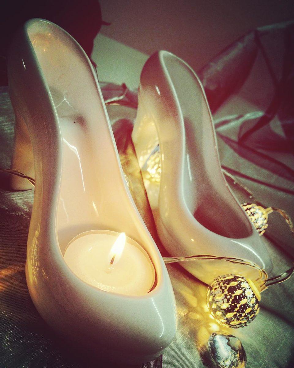 High Heel Kerzen