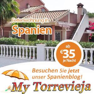 My Torrevieja Banner für Ferienwohnungen