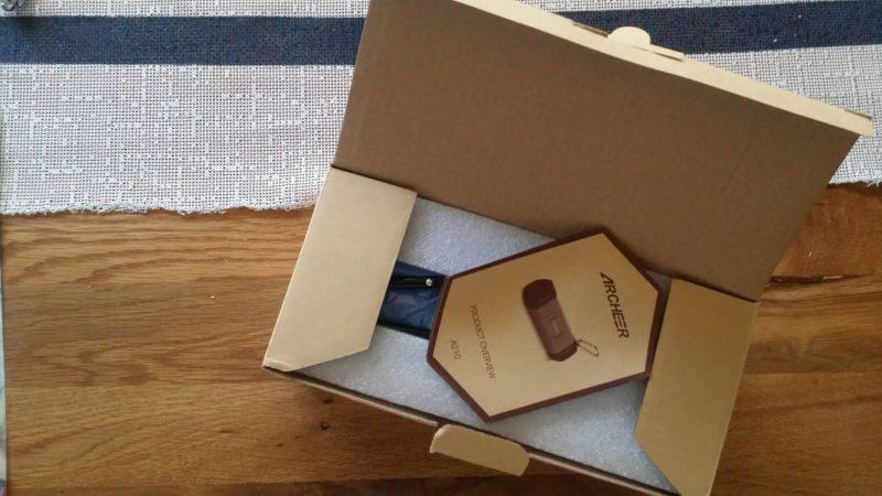 Testgerät in der Verpackung