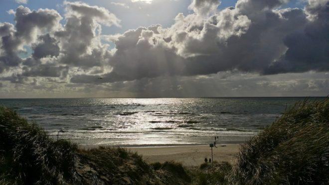 An der Küste von Dänemark