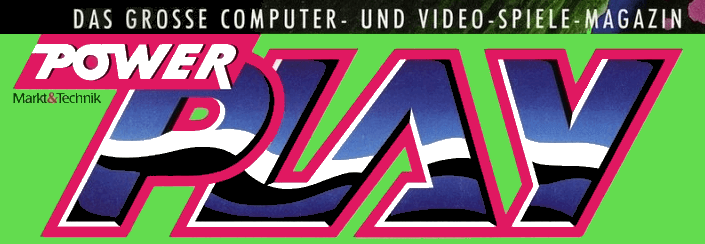 Power Play Logo, vom großen Computer- und Video-Spiele-Magazin