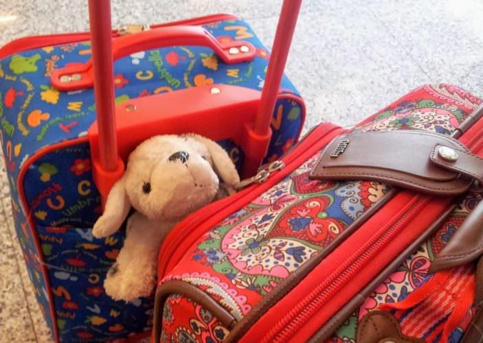 Unterwegs / mit der Familie auf Reisen