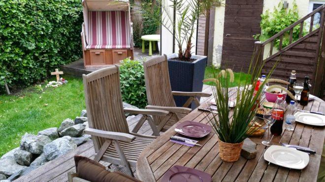 Garten Terrasse aus Holz