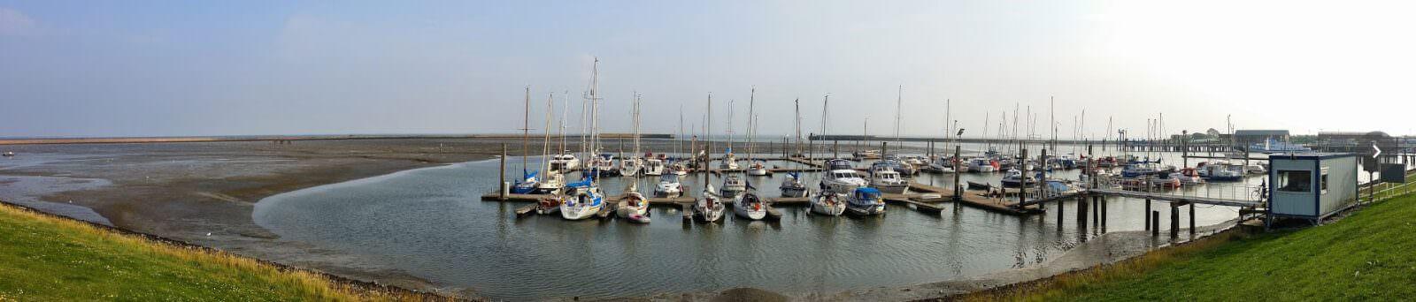 Jachthafen auf Langeoog