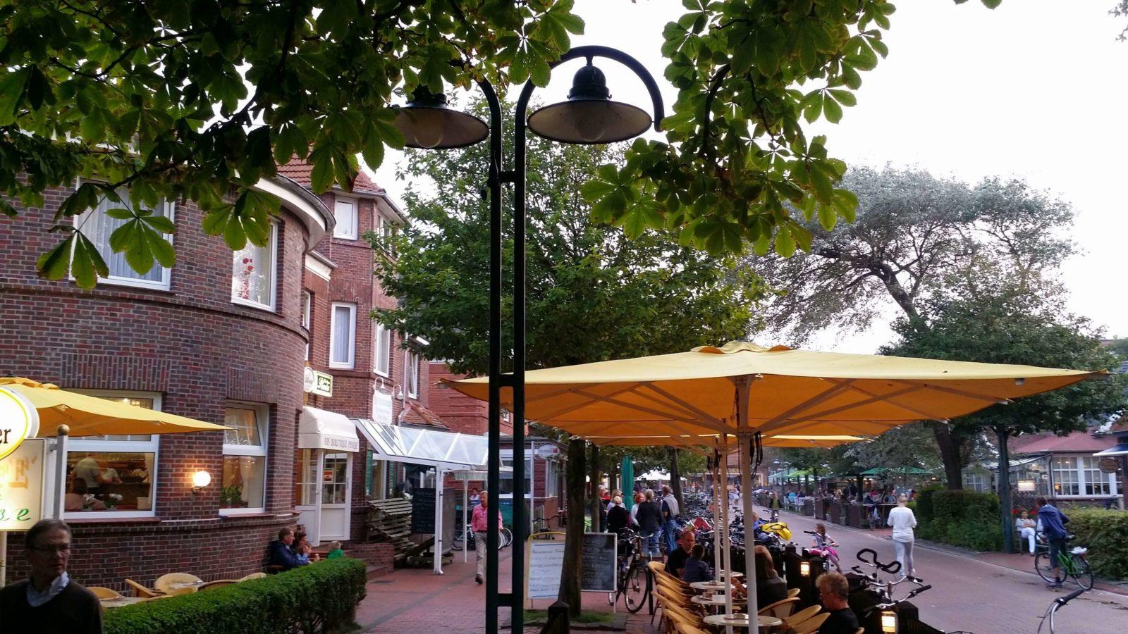Auf Langeoog im Zentrum